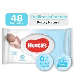 Huggies Toallas Humedas Recien Nacido x 48 Unidades
