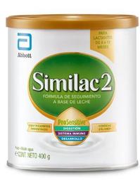 Fórmula Láctea Similac 2 Pro Sensitive Lata 400 g