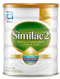 Fórmula Láctea Similac 2 Pro Sensitive 850 g
