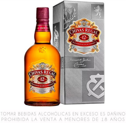 Chivas 12 años 750 ml
