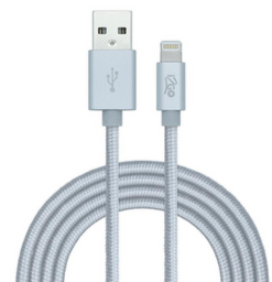 I2go Cable Lightning 2 M.t Nylon Trenzado