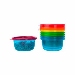 Pack de bowls con tapas 8oz - 6 pk