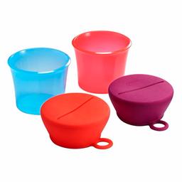 Contenedores para snack - rosado (snug snack)