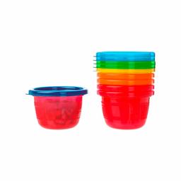 Pack de bowls con tapas 4.5oz - 6 pk