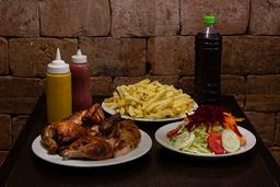Pollo + 2 Litros de Chicha