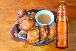 Chicharrón de pollo + 1 Cusqueña Dorada
