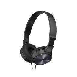 Sony - Audífonos on-ear con micrófono negro