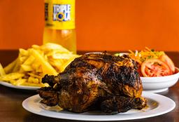 Pollo Papas y Gaseosa