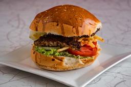 Hamburguesa Doble Carne + Chicha Morada