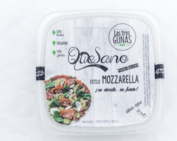 Quesano Mozzarella Vegano - Las Tres Gunas