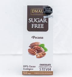 Chocolate 99% con Pecanas con Stevia - DMAU