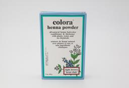 Tinte Henna Castaño Claro en Polvo - Colora