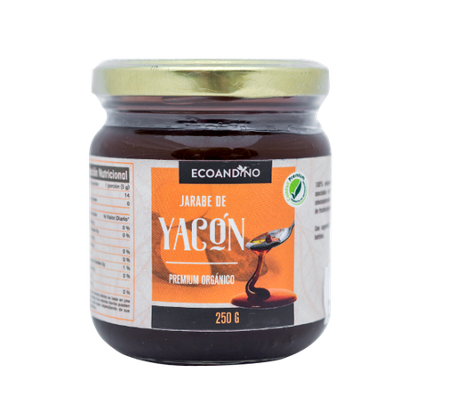 Jarabe de Yacón Orgánico - Ecoandino