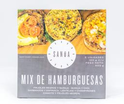Hamburguesa Mix x5 - Sanúa