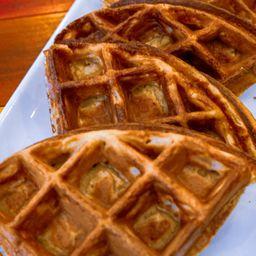 Waffle con Miel de Maple