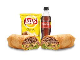 Combo Wrap Steak and Cheese