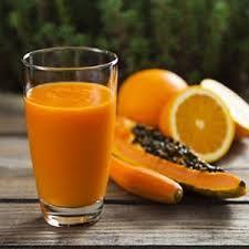 Jugo de Papaya con Naranja
