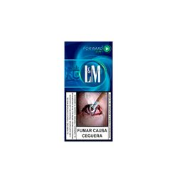 L Y M Blue Forward Menthol X 10