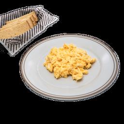 Huevos Revueltos Simples