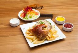 Mostro: 1/4 Pollo a la Brasa + Arroz Chaufa