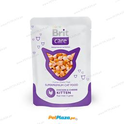 Premio H�medo Brit Cat Chicken & Cheese Pouch 80 g