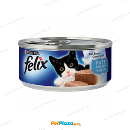 Alimento H�medo Felix Pescado y Atun Pate 156 g