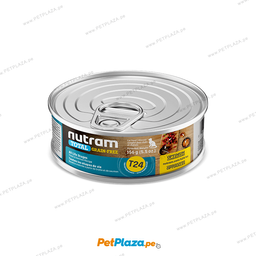 Alimento H�medo Nutram T24 Para Gato Salmon & Trout 156 g