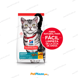 Alimento Seco Hill�s Indoor Para Gato Adulto 1.58 Kg