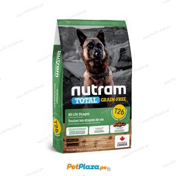 Alimento Seco Nutram T26 Perros Allergy 11.34 Kg