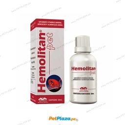 Suplemento Vitam�nico Hemolitan 30 mL