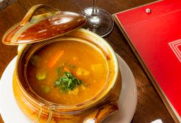 Sopa Criolla con Quinua