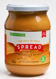 Mantequilla de Maní Spread Con Miel de Abejas