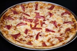 Pizza Personal, Pan al Ajo y Bebida