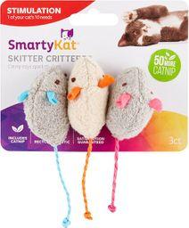 SmartyKat Raton Skitter Critters 3 unid.