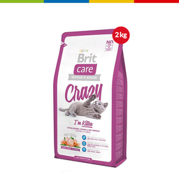 Brit Care Cat Crazy Kitten X 2 Kg  (64390)