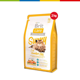 Brit Care Cat Sunny Beautiful Hair X 2 Kg (64391)