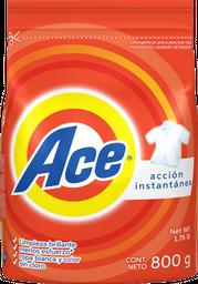 Detergente Ace Regular Bolsa 800 G