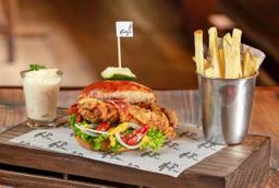 Hamburguesa Crispy Chicken