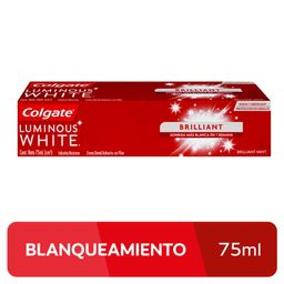 Pasta Dental Colgate Luminous White X 75 Ml