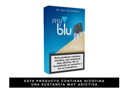 Cartuchos Myblu™ Sabor Tobacco Creme 2 Recargas,  0,8%