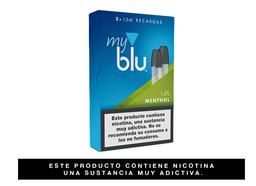 Cartuchos Myblu™ Sabor Menthol 2 Recargas, 1,6%