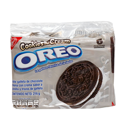 Galletas Oreo Nabisco Cookies And Cream Pack 6 Unid X 36 G