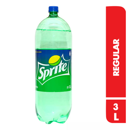Gaseosa Sprite 3 L