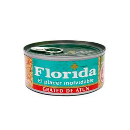 Grated De Atun En Aceite Vegetal Florida Lata 170 G