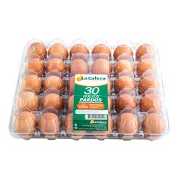 Huevos Pardos La Calera Bandeja 30 Unid