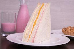 Sándwich Triple Durazno