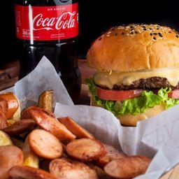 Salchi Burger Coca-Cola