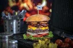 Hamburguesa Americana BBQ