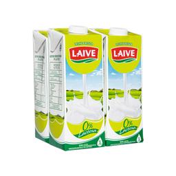 Leche Laive Sin Láctosa 1 L x 4