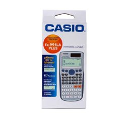 Calculadora Científica Fx-991 LA PLUS Casio